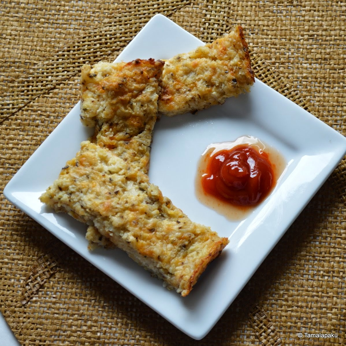 Cauliflower Bread Sticks