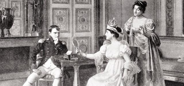 Josephine Beauharnais y Napoleon Bonaparte