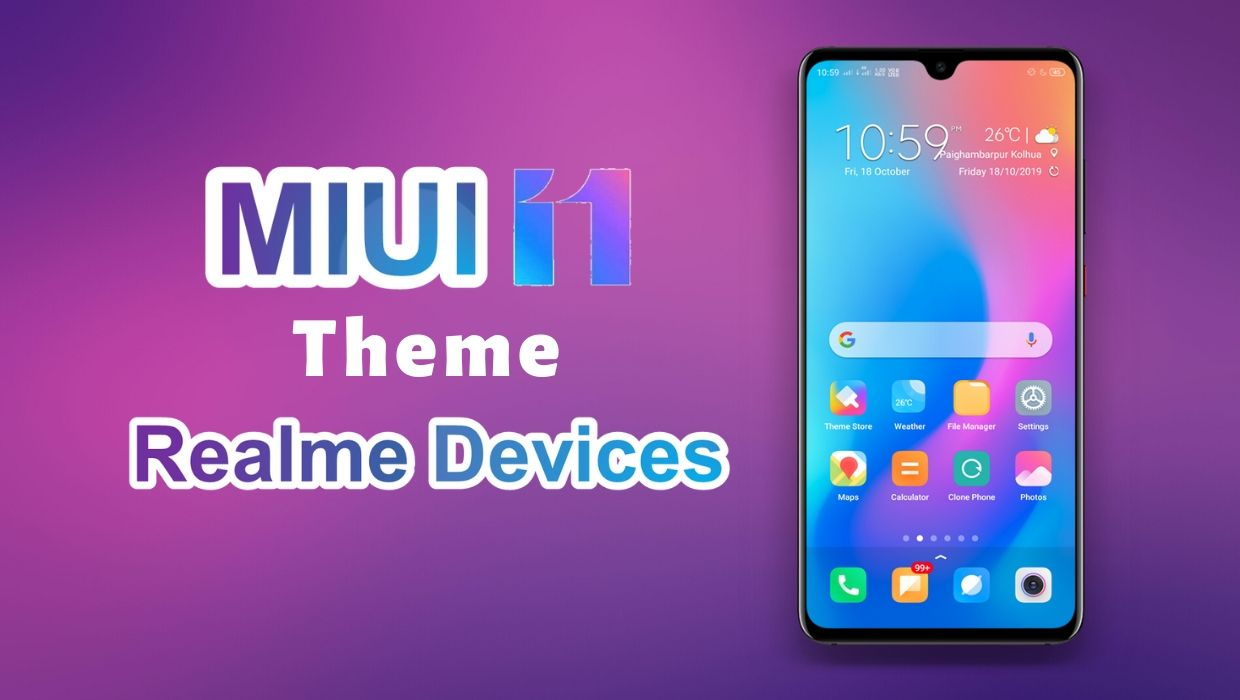 MIUI Theme for Realme Devices