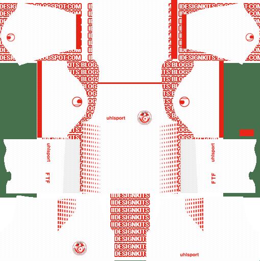 40cfde20900 Tunisia National Team Kit 2018/19 - Dream League Soccer Kits