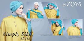 Busana Muslim Terbaru Tutorial Hijab Modern Turban Untuk Kebaya