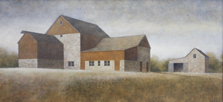 Elizabeth W. Leary painting