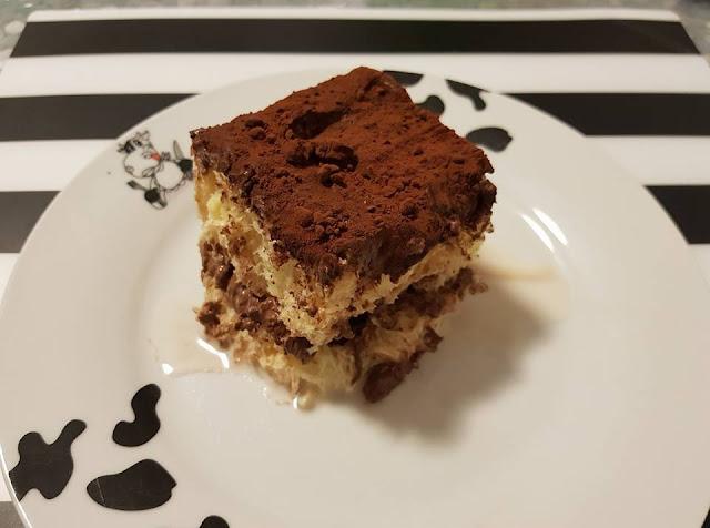Ricetta per il Tiramisù col pandoro e cioccolato