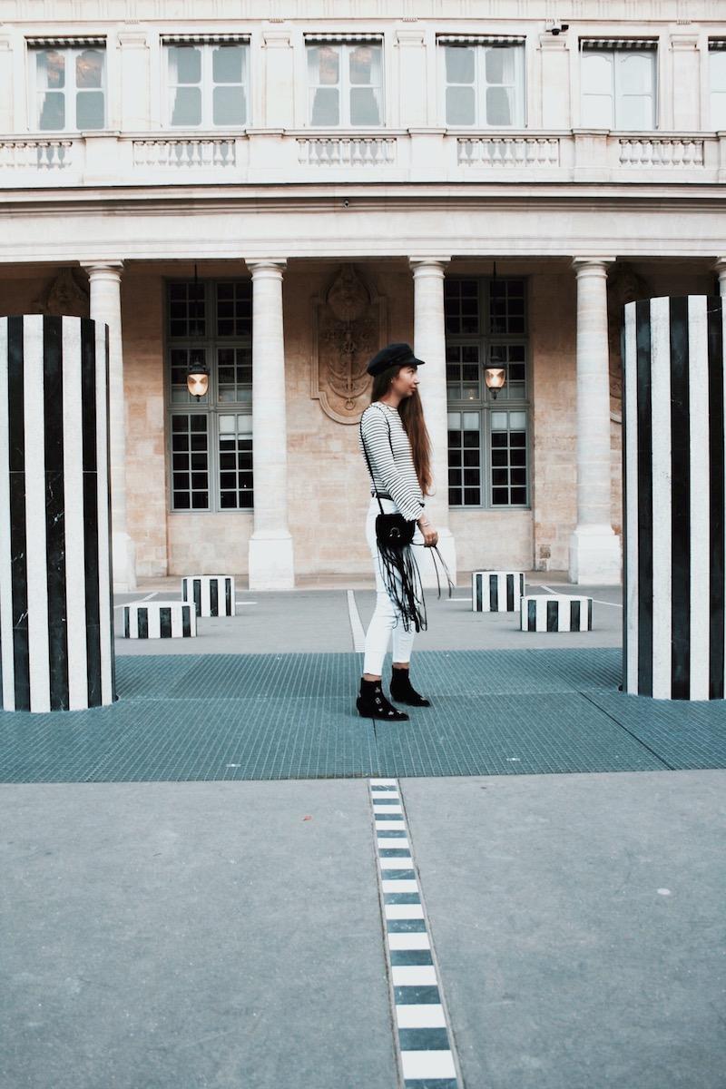 street style paris 2017 colonne buren blog mode novembre