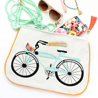 http://www.akailochiclife.com/2016/05/sew-it-embroidered-bike-pom-pom-clutch.html