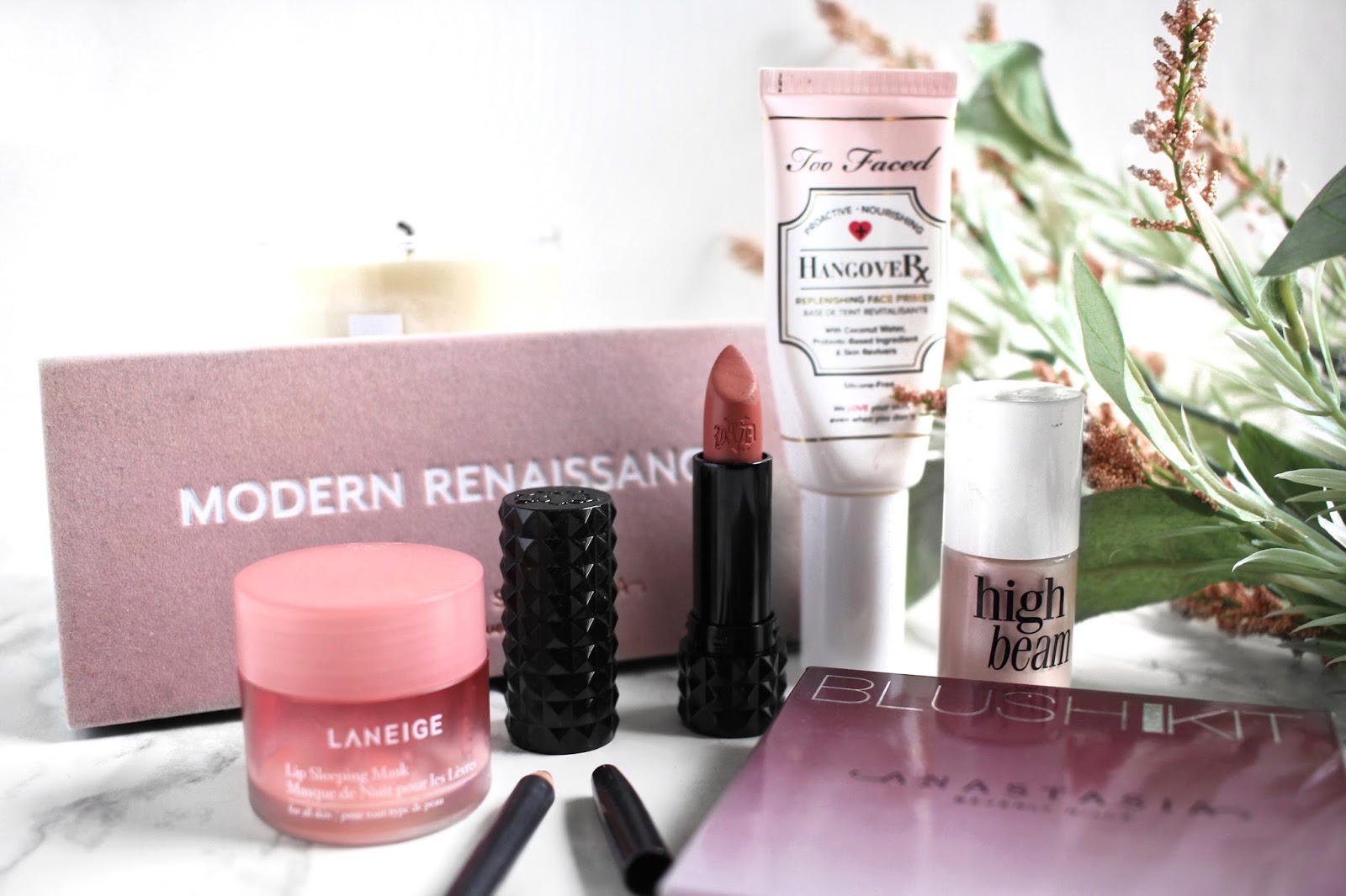 A Very Pink February ft. Anastasia Beverly Hills, Laneige, Kat Von D, Too Faced, Benefit, MAC || The Glam Surge