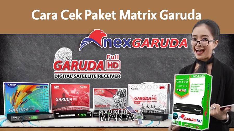 Panduan Singkat: Cara Cek Paket Matrix Garuda