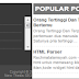 Cara memasang Scroll pada Label,Popular Post dan Postingan di Blog