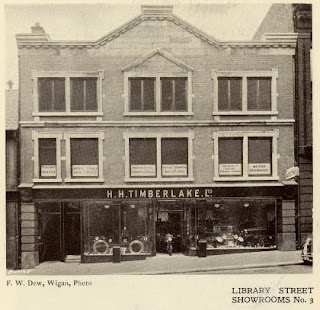 H H Timberlake Limited, Library Street, Wigan in 1937