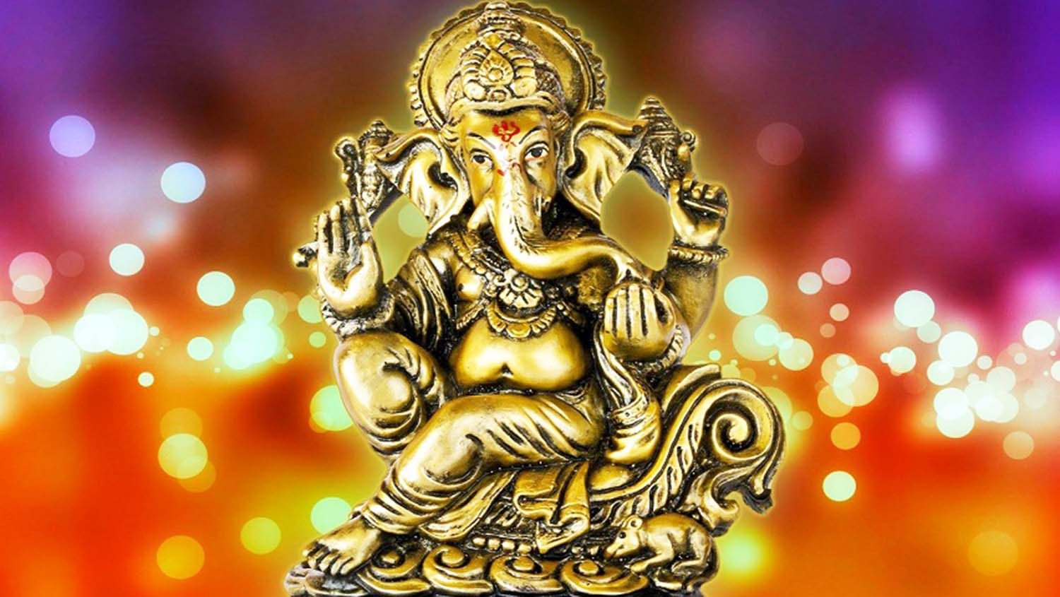 Lord Vighnaharta Ganpati wallpaper!