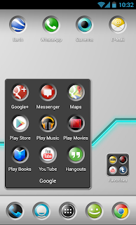 Button Theme 4 Apex Launcher - Screen 2