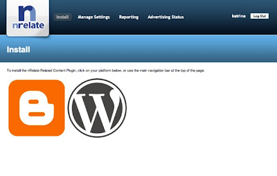 nRelate - A Related Post Widget for Blogger and WordPress
