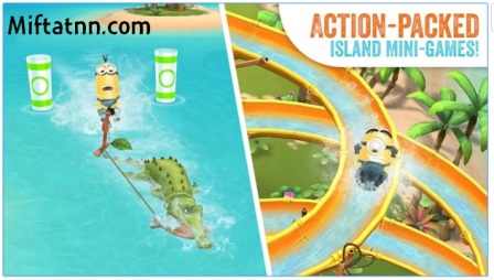 Game Action Adventure Android Minions Paradise APK