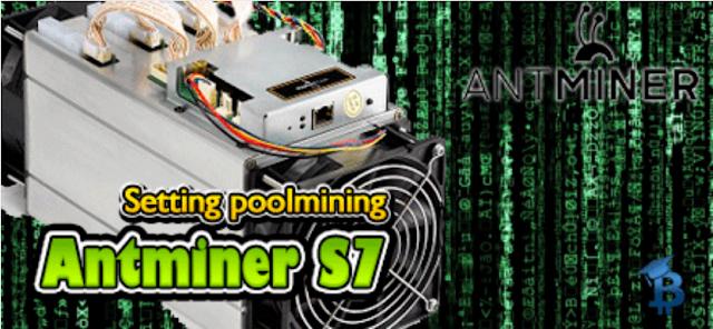 Cara Koneksi Antminer S7 Ke Bitcoin Mining Pool Dan Cara Mengatasi Masalah Koneksi Antminer S7 Ke Bitcoin Mining Pool