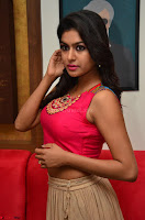 Akshita super cute Pink Choli at south indian thalis and filmy breakfast in Filmy Junction inaguration by Gopichand ~  Exclusive 045.JPG