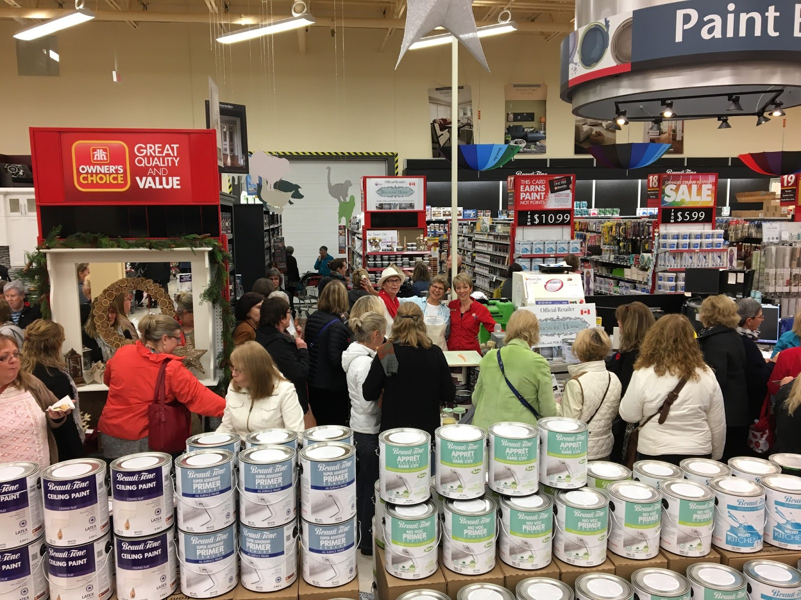 Bluestone house collingwood home hardware ladies night Home hardware furniture collingwood