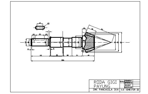 drawingtechnic: Drawing Pinion Gear