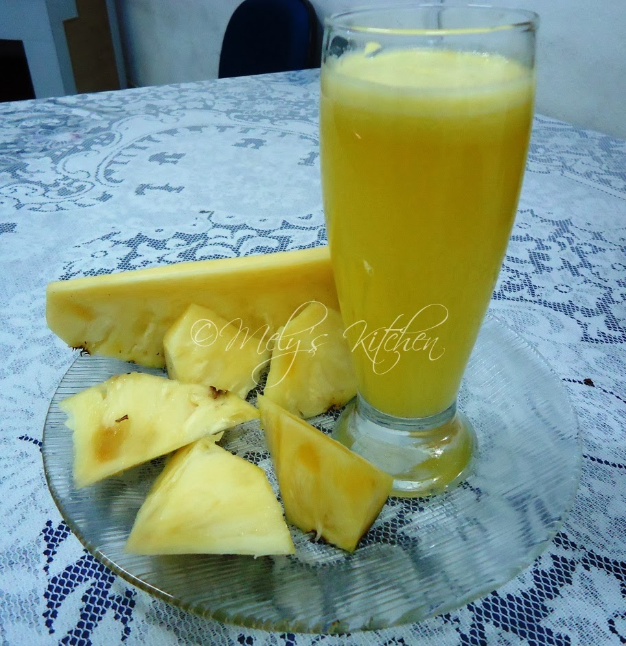 Mely's Kitchen: Pineapple Juice And Its Health Benefits