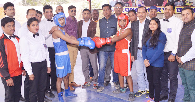 """1st Sub Junior- Junior-Youth Men Rural National Boxing Championship 2017"