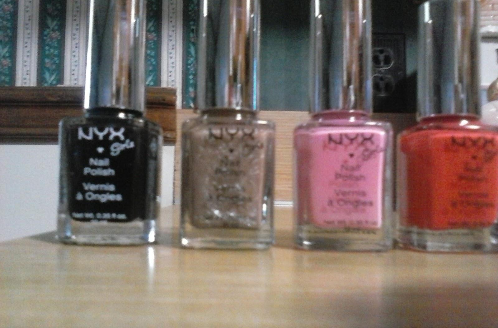 NYX Nail Polish