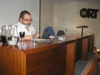 Jorge Lanata en disertación en la universidad ORT en Montevideo