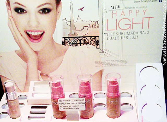 Fiesta 150 aniversario de Bourjois Happy Lights