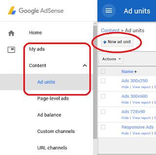 Pilih format untuk membuat iklan tautan