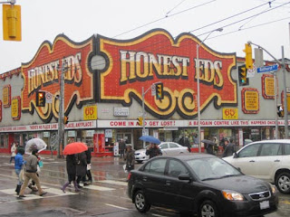 Honest Ed's All Wet But He Never Soaks You.