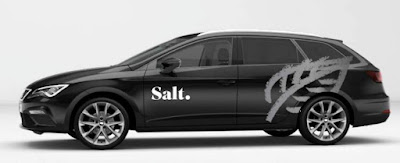 "IADAB News Weekly - Edition 9 - Seat CNG Fuel Car in ""Salt"" company colours"
