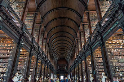 long library dublino