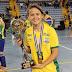 Cearense concorre ao prêmio de melhor jogadora de Futsal Do Mundo