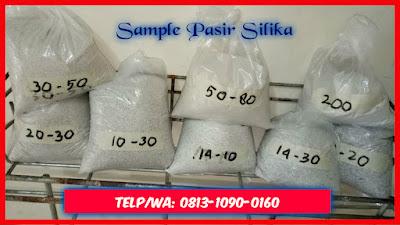 Menjual pasir silika bangka bekasi murah