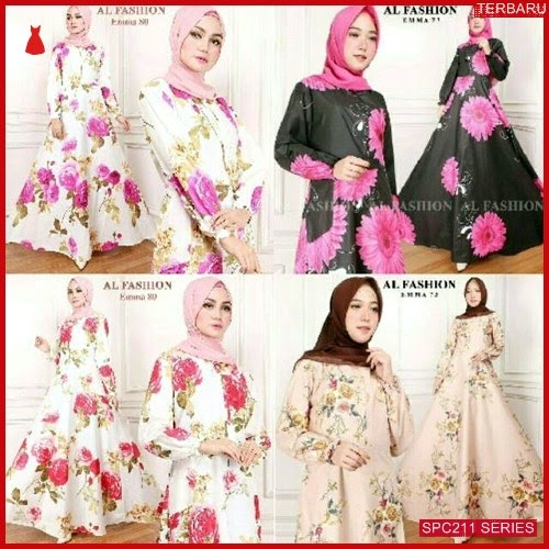 SPC211G69 Gamis Emma Maxy Syari Dress Muslim Wanita | BMGShop