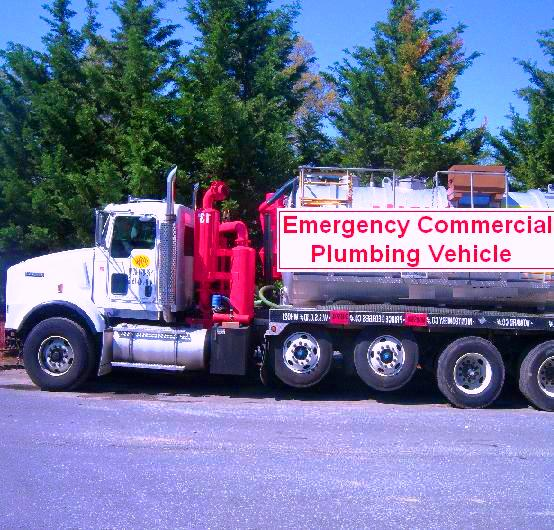 Emergency Commercial Plumbing Vehicle