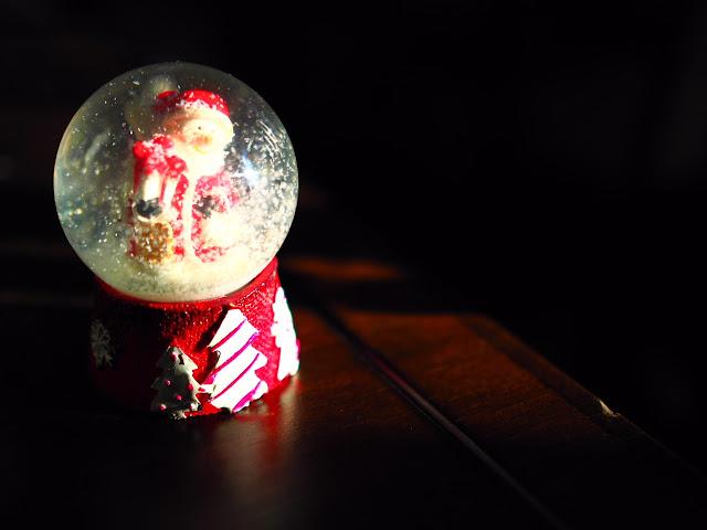 Bola de Navidad de Papá Noel