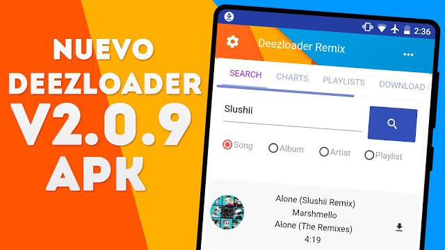 deezloader remix apk download