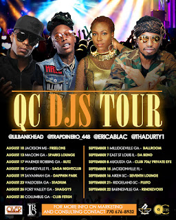 Tour Alert: Erica Blac , DurtyDu And Trap Dinero Will Be Headlining QC DJ's Tour