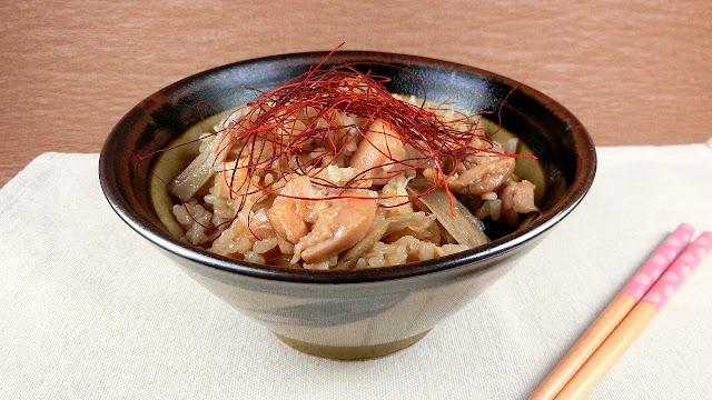 鶏ごぼうの炊き込みご飯レシピ