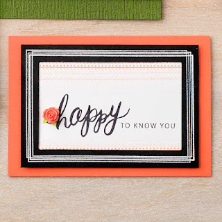 Stampin' Up! Swirly Frames Card
