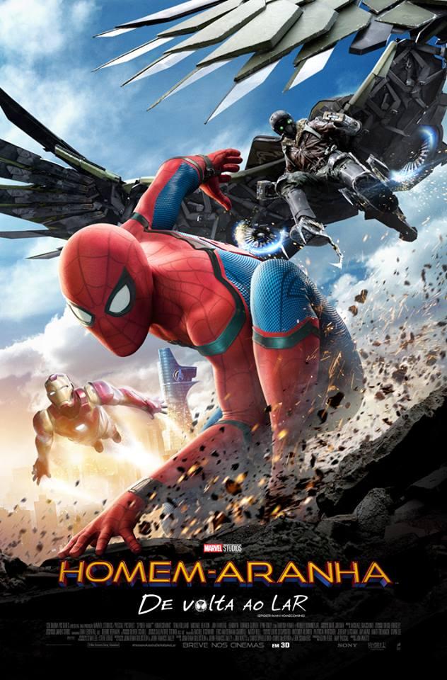 Capa Homem-Aranha: De Volta ao Lar Torrent Dublado 720p 1080p 5.1 Baixar