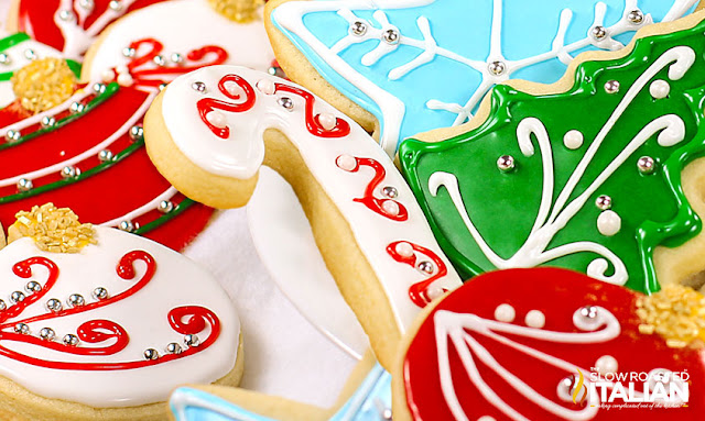 Christmas Cookie Frosting.Best Tasting Sugar Cookie Icing With Video