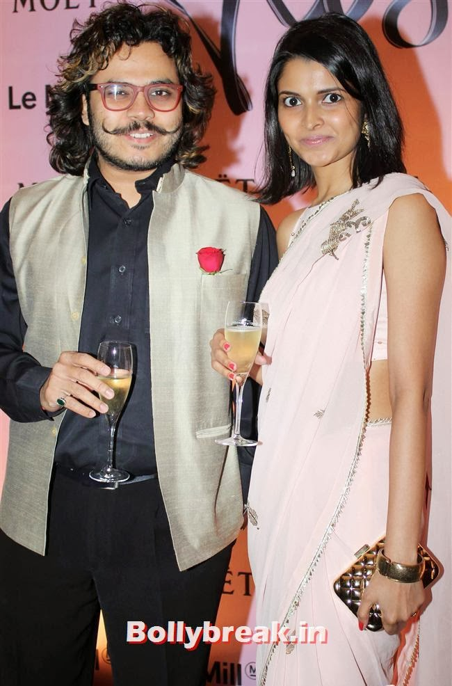 , Celebs at Moet and Chandon Valentines Day Celebrations