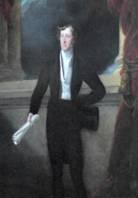 William Spencer Cavendish, 6th Duke of   Devonshire, in Chatsworth House