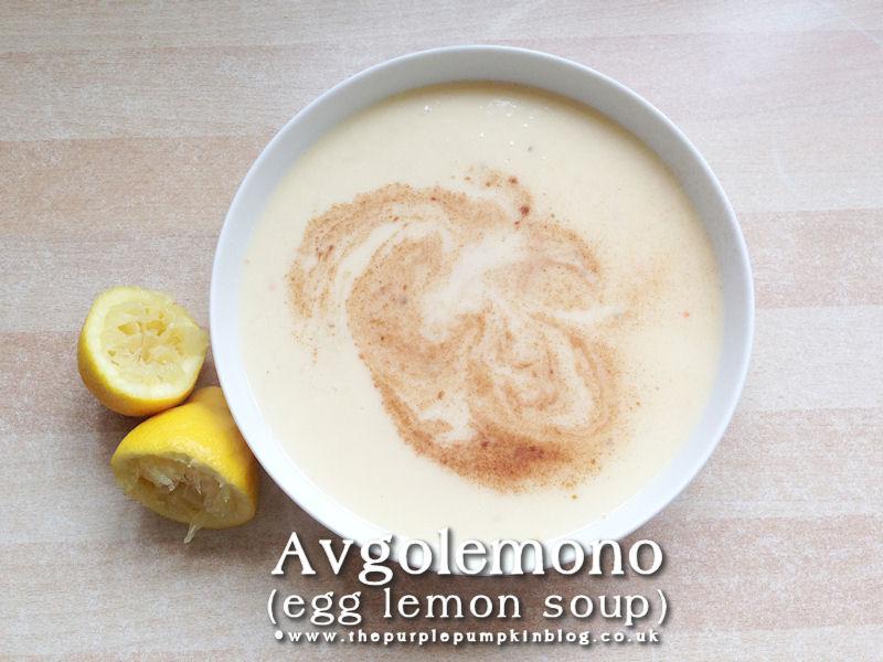 Avgolemono - Egg Lemon Soup [#ShortcutEggsperts]