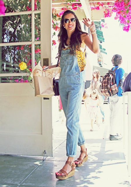 denim overalls fashion