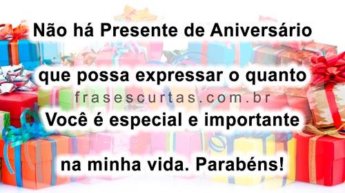 Frases De Aniversário: Que Saudade De Você: Muitas Felicidades...