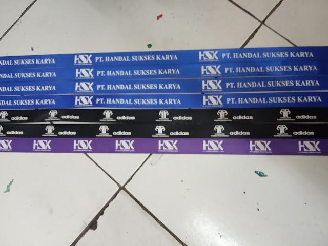 Pusat layanan cetak cepat tali lanyard Jakarta