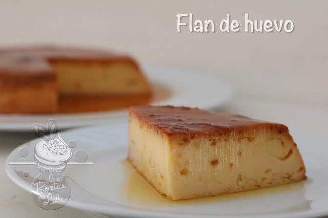 Flan De Huevo.