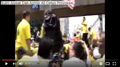 Bukti Anwar dan Azmin Ali cetus provokasi