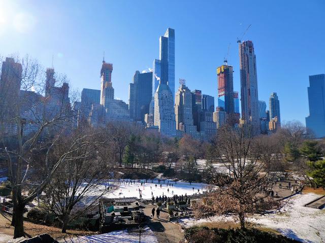 Vad göra i New York på vintern?